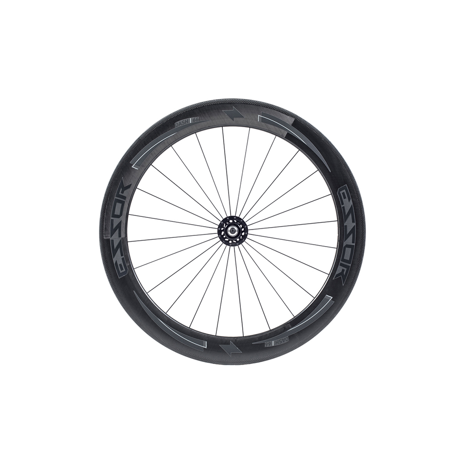 에쏘 Dash 66mm Carbon Clincher Track 휠셋